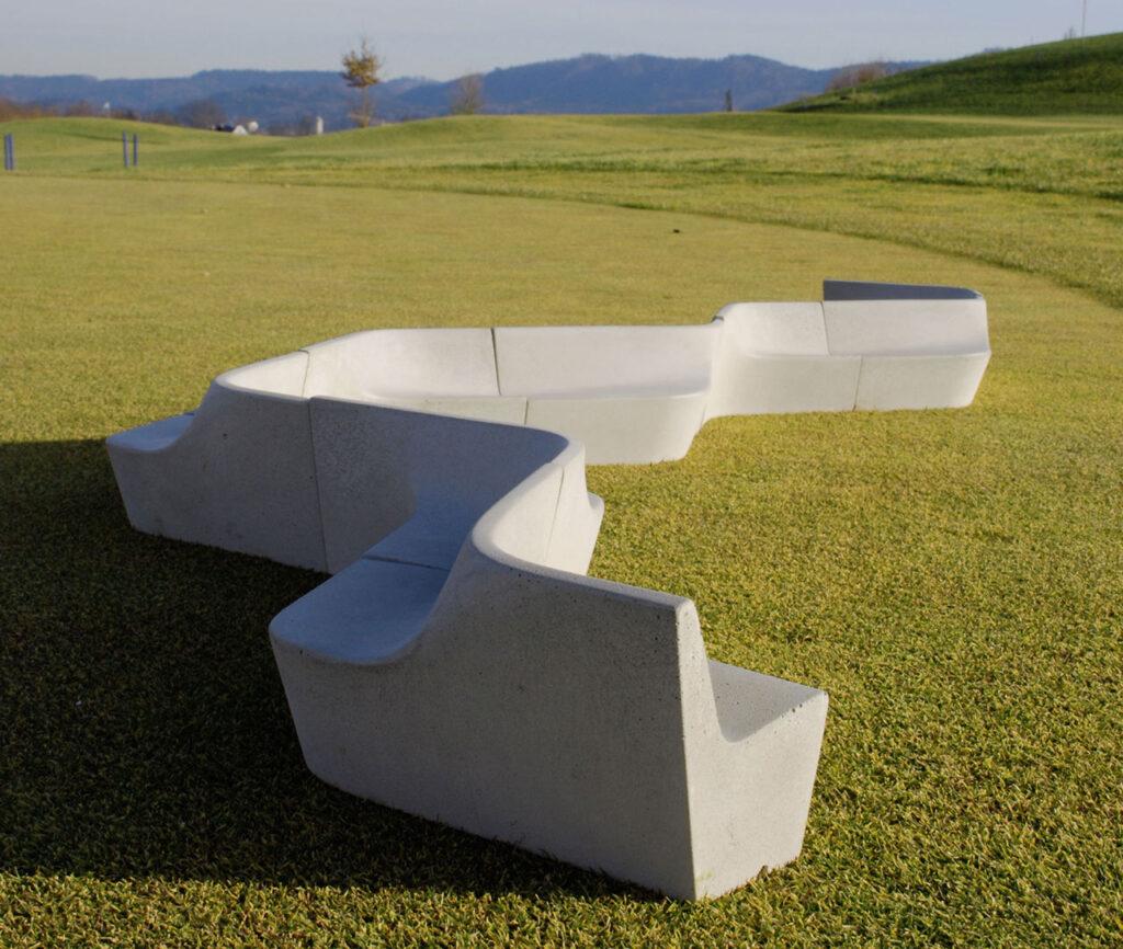 Versus, eine modulare Sitzbank - Yvonne Moser Design